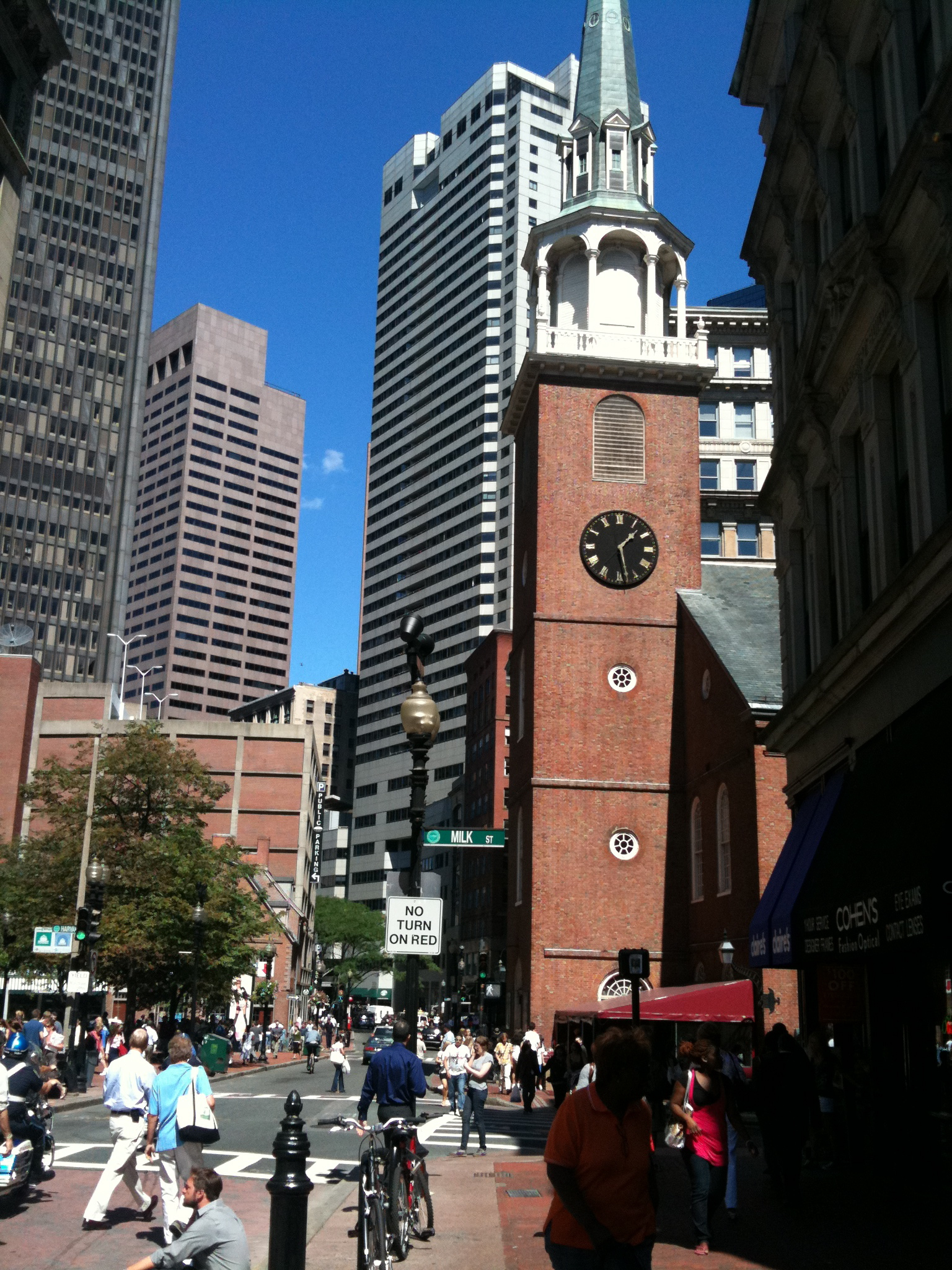 Historic Downtown, Boston