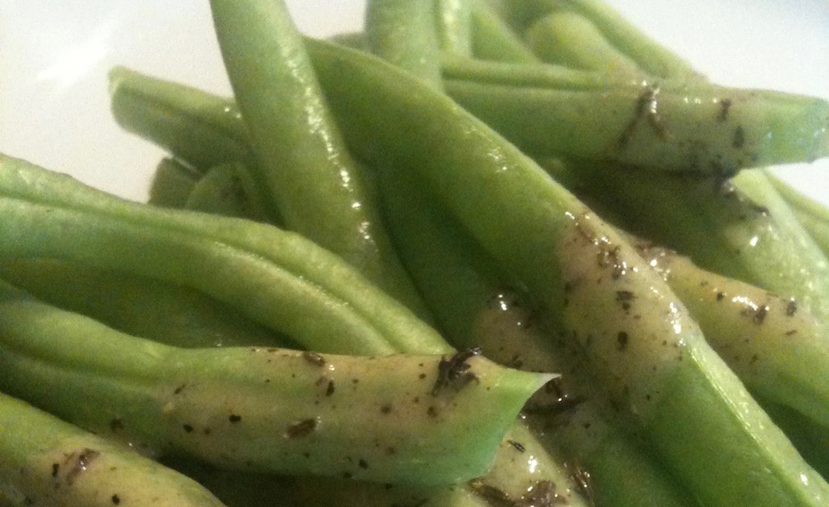 Easy, Healthy, Delicious – Green Beans with Dijon Vinaigrette