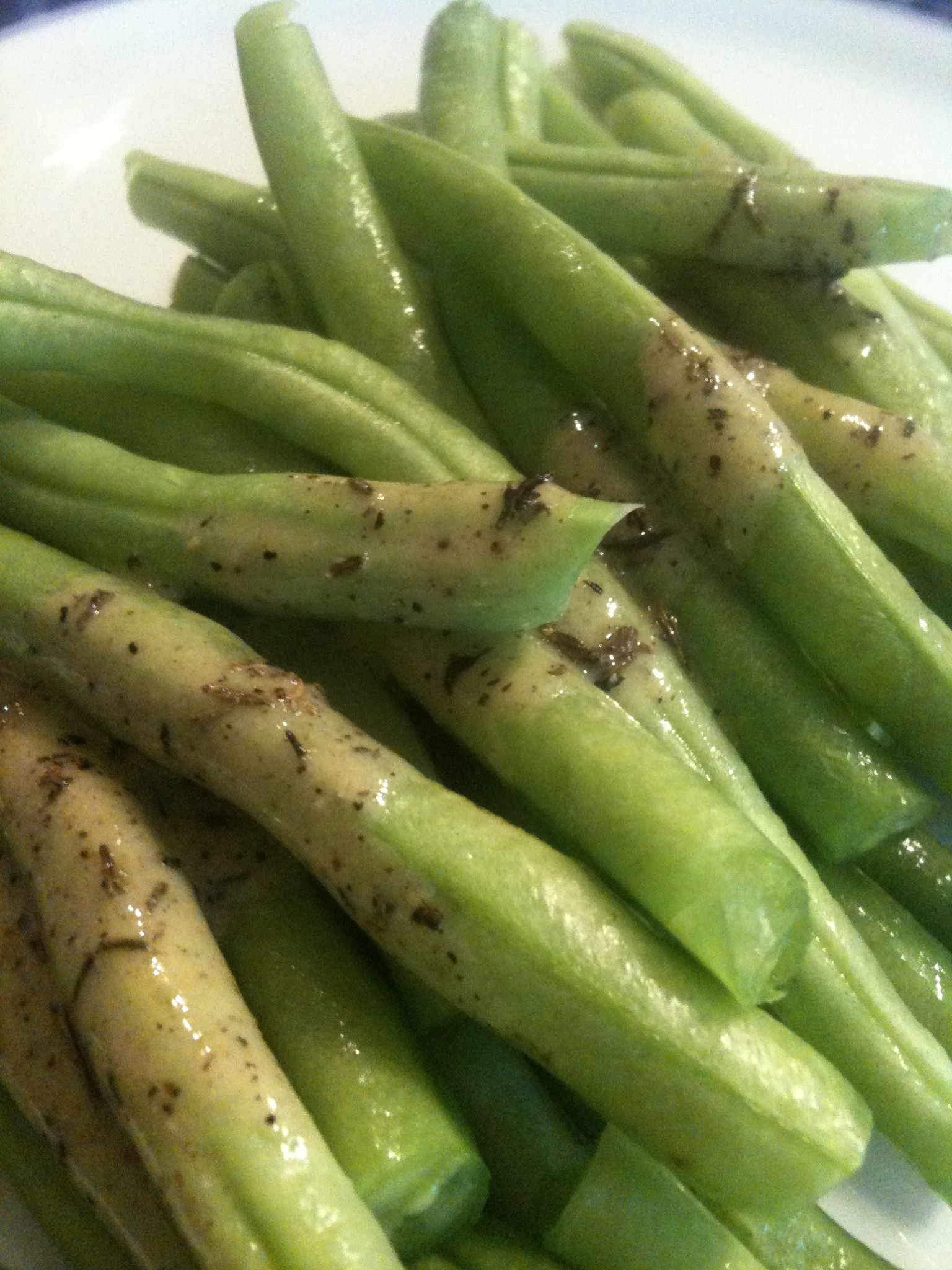 Easy, Healthy, Delicious - Green Beans with Dijon Vinaigrette ...