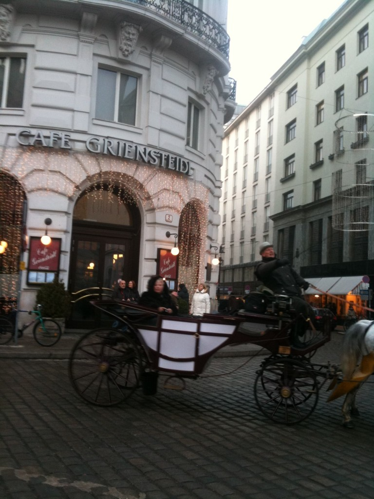 Vienna Carriage and Christmas