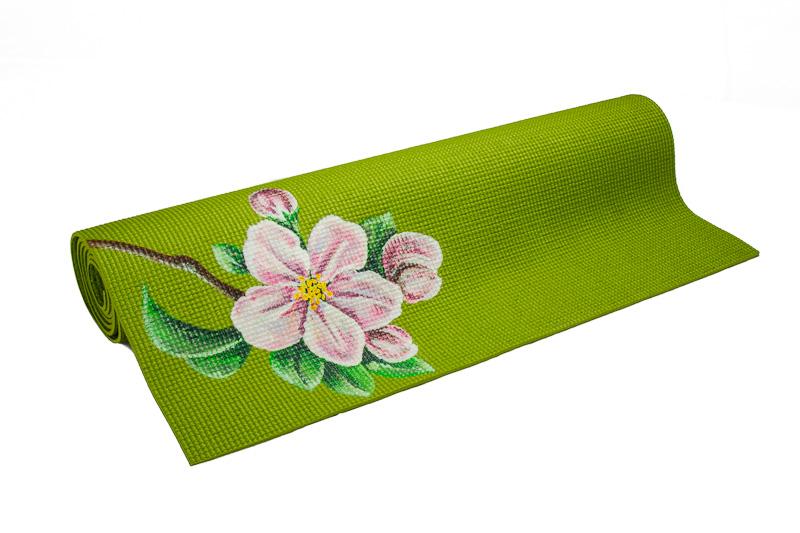 Painted Yoga Mat Hand Painted Yoga Mat