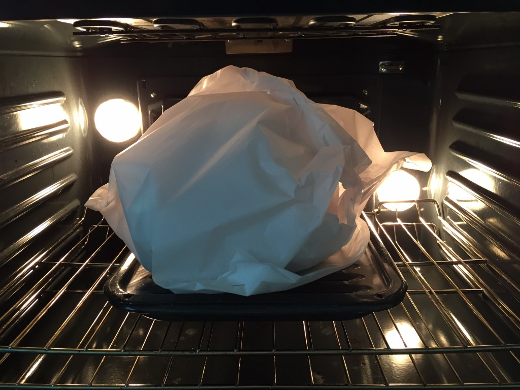 Martha Stewart's Turkey in a Parchment Bag
