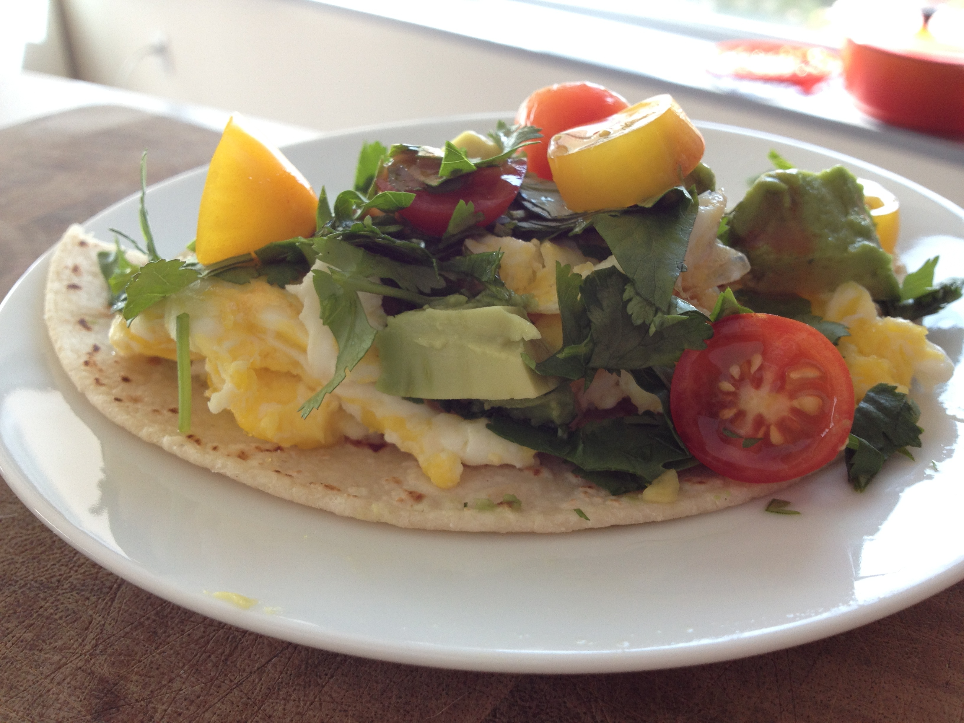 Fast Lunch: Tortilla Scramble