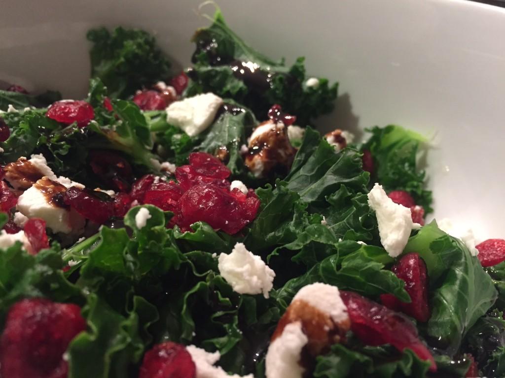 Kale, Cranberry, Balsamic, Ricotta
