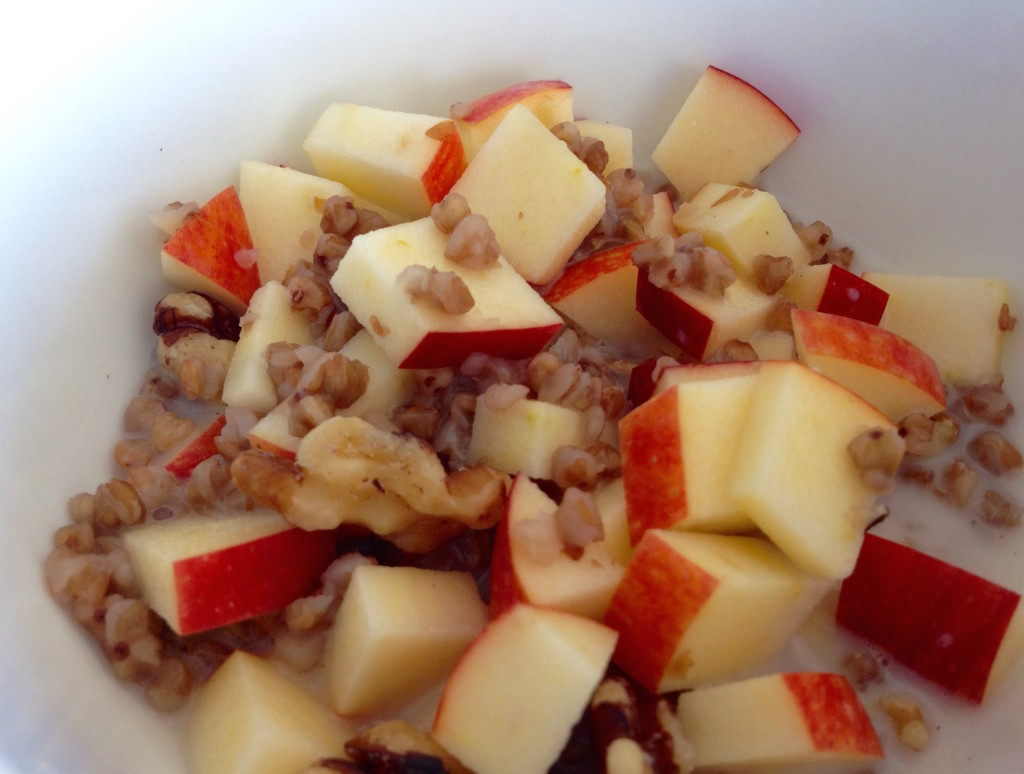 Buckwheat Apple Walnut Breakfast