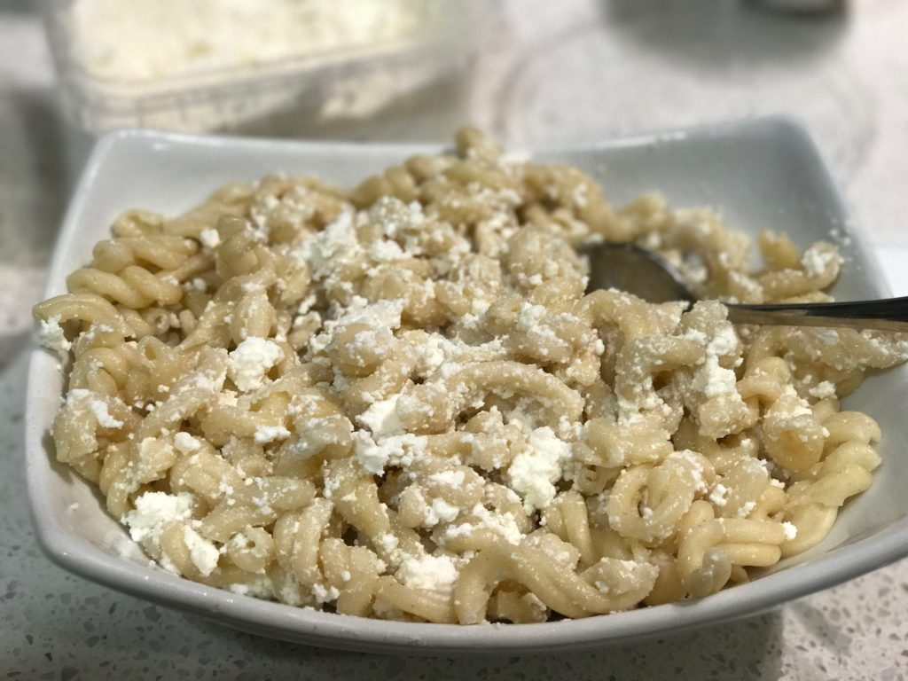Mac and Cheese Unbaked, Without Parmesan