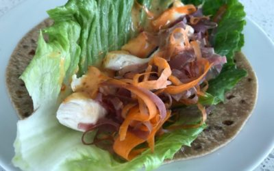 Lean, Summer Protein Wraps