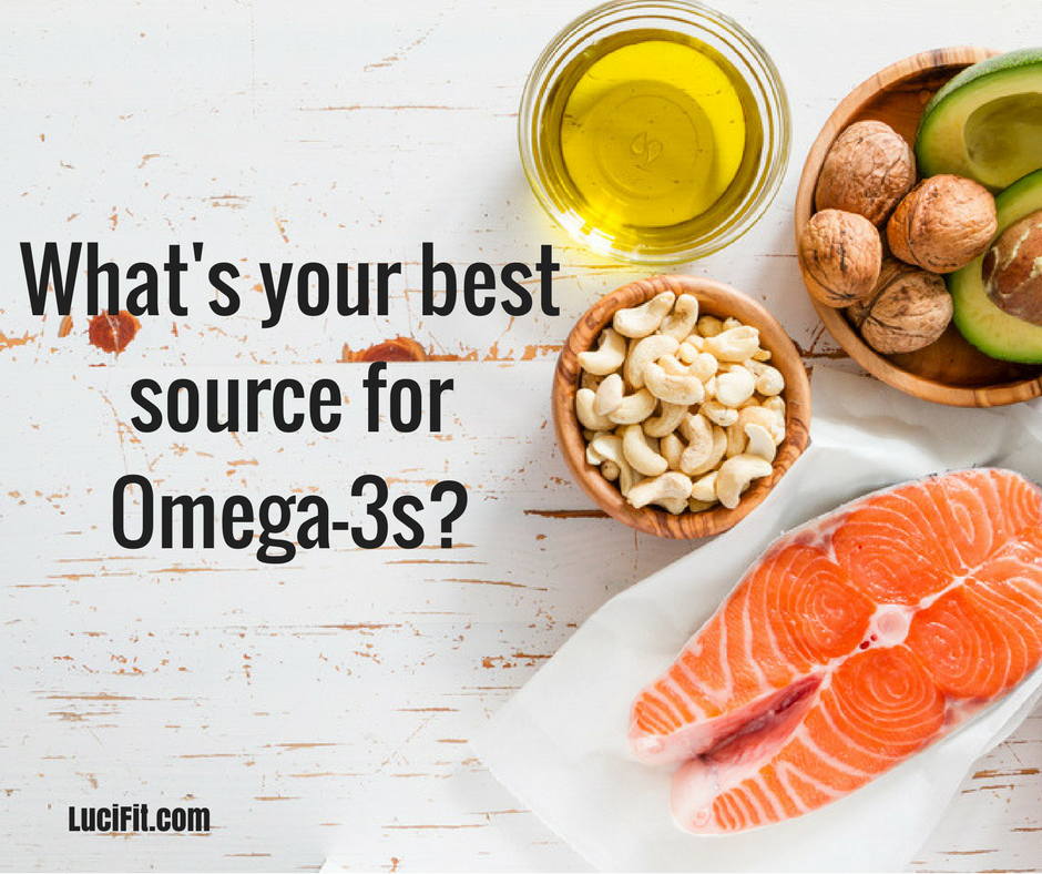 Omega 3s Are In What Lucifit