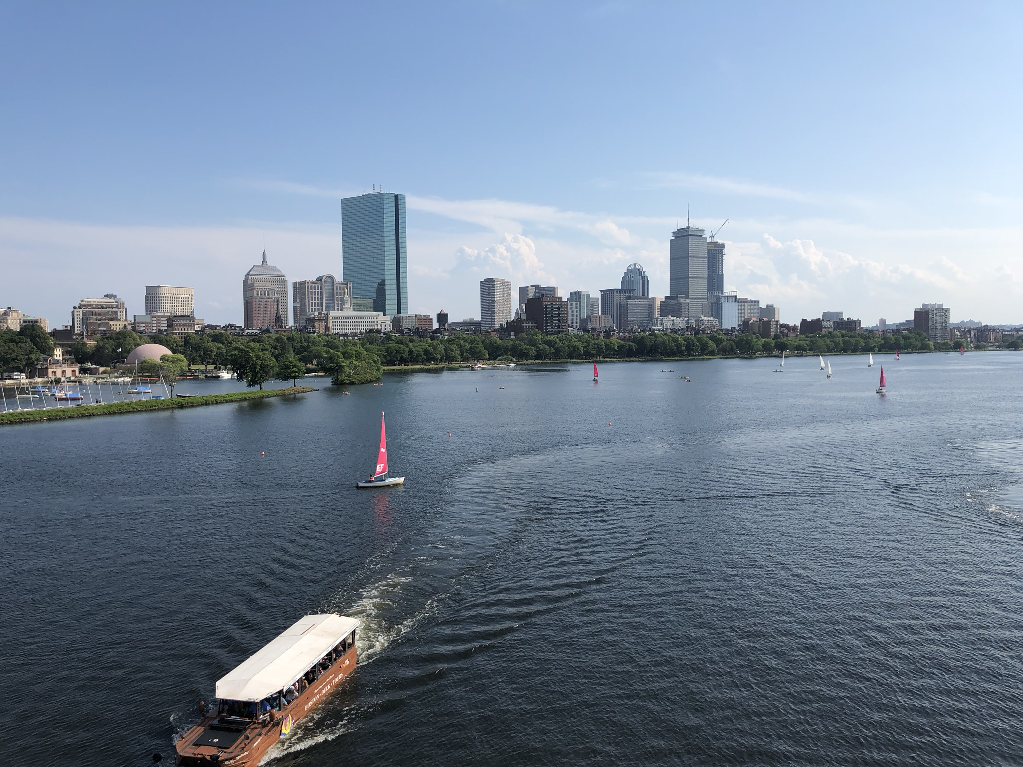 Charles River, Boston MA