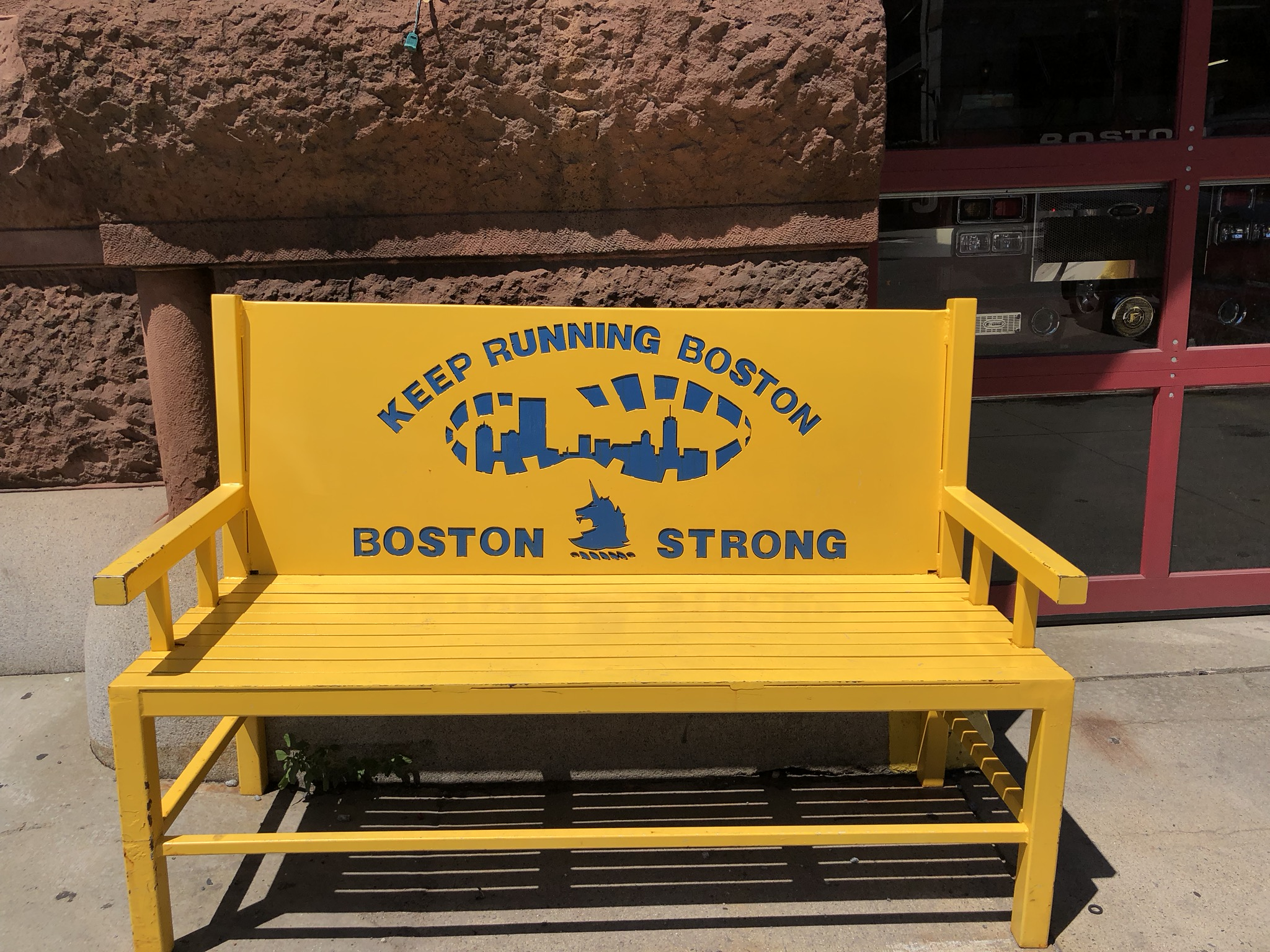 Boston Strong Boylston Street FD