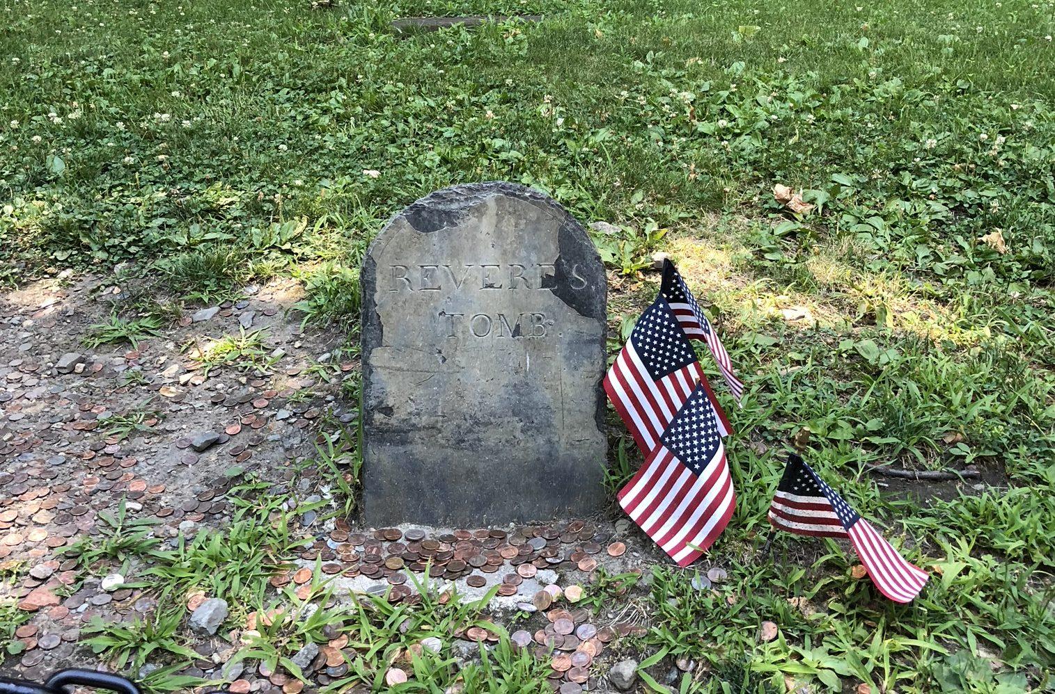 Paul Revere's Grave!