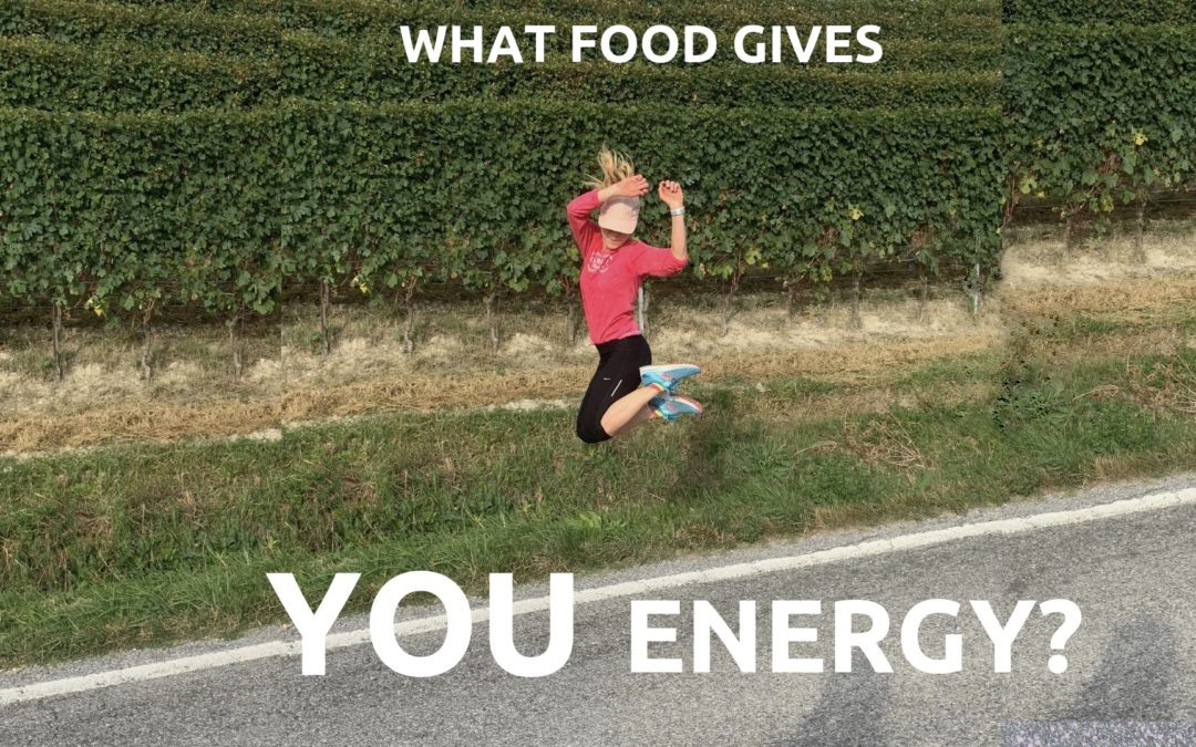 How to Find Out: What Food Gives YOU Energy?